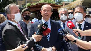Ersin Tatar'dan Metehan Sınır Kapısı'na ziyaret