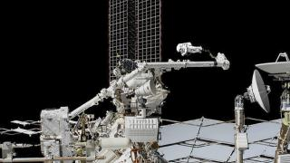 Uluslararası Uzay İstasyonu'nun robotik kolunda delik açıldı