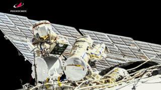 Kozmonotlar uzay yürüyüşüne çıktı