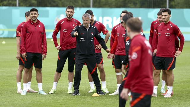 A Milli Takım Almanyadaki hazırlıklarını sürdürüyor