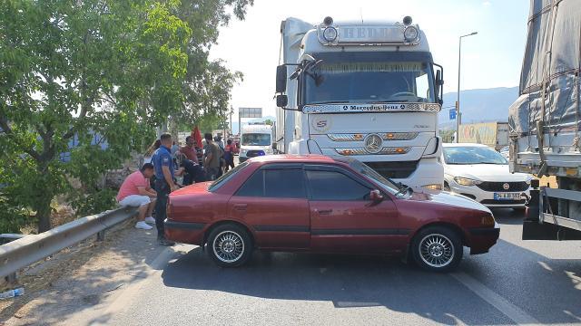 Aydında trafik kazası: 1 yaralı