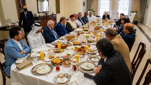 Türkiyenin Doha Büyükelçiliğinde Dünya Kahvaltı Günü etkinliği düzenlendi