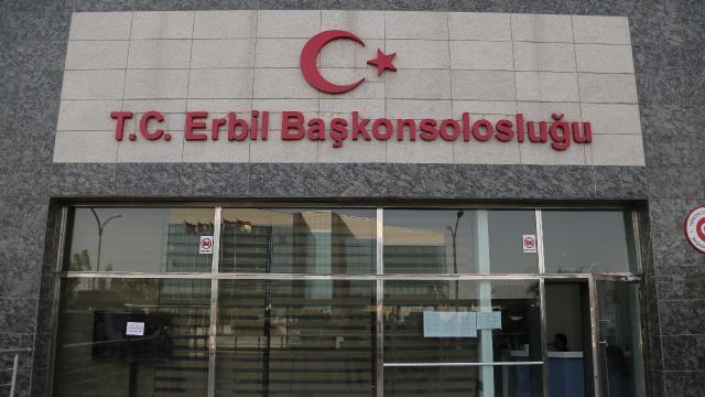 Türkiyenin Erbil Başkonsolosluğu: PKK ortak düşman