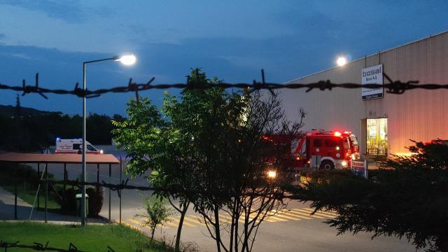 Kocaelinde metal işleme fabrikasında yangın çıktı