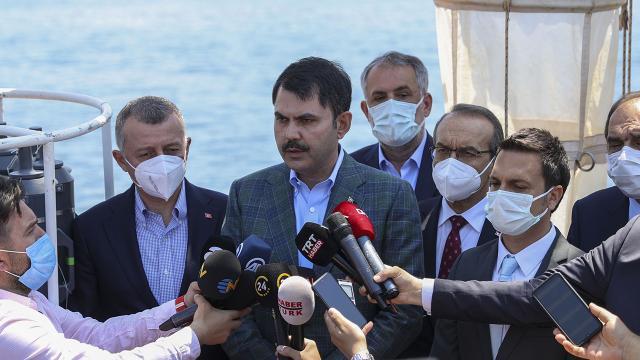 Bakan Kurum: Boğazımızı kirliliğe terk etmeyeceğiz