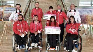 Paralimpik masa tenisçilerden 2 altın madalya