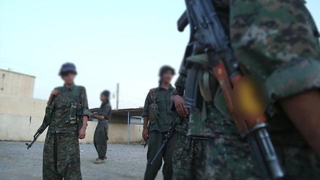 ABD, PKK/YPGli teröristlere savaş eğitimi veriyor
