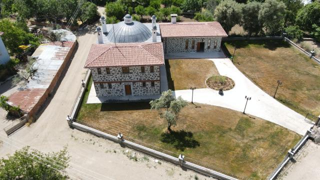 Sarıcakayadaki 47 yıllık hamamın restorasyonu tamamlandı