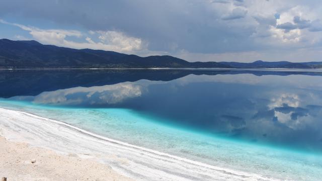NASAdan yeni Salda Gölü paylaşımı