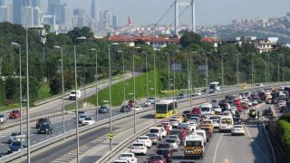 Kısıtlamasız ilk cumartesi köprüde trafik yoğunluğu
