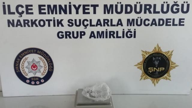 Şırnakta uyuşturucu ve kaçakçılık operasyonlarında yakalanan 38 şüpheliden 2si tutuklandı