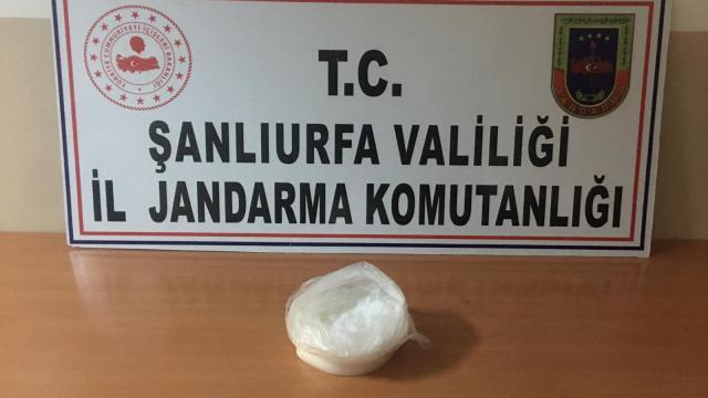Şanlıurfada uyuşturucu operasyonunda yakalanan şüpheli tutuklandı