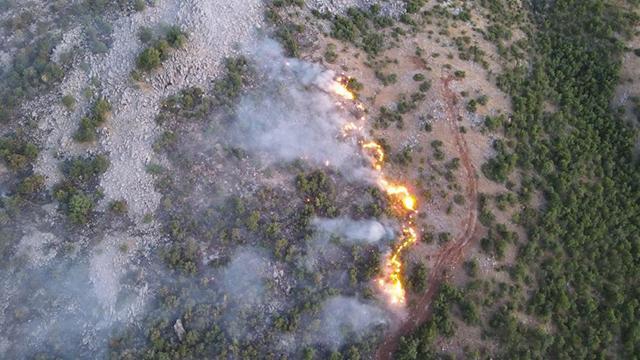Elazığdaki orman yangını 4 gündür sürüyor