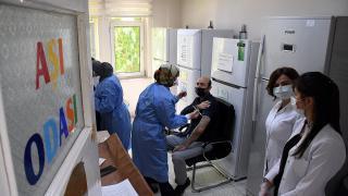 Çorum'daki aile sağlığı merkezlerinde BioNTech aşısı uygulanmaya başlandı