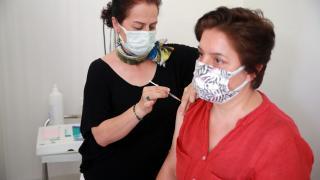 Aydın'daki aile sağlığı merkezlerinde BioNTech aşısı yapılmaya başlandı