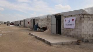 Bağcılar Belediyesinin desteğiyle İdlib'de 450 briket ev inşa edildi