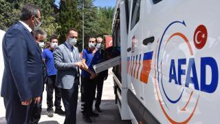 """Bilecik'te """"AFAD Farkındalık Eğitimi Çadırı"""" kuruldu"""
