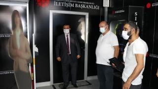 Cumhurbaşkanlığı İletişim Başkanlığı Dijital Tırı Adana'da