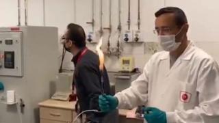 Amasra-1 kuyusunda bulunan doğal gaz böyle test edildi