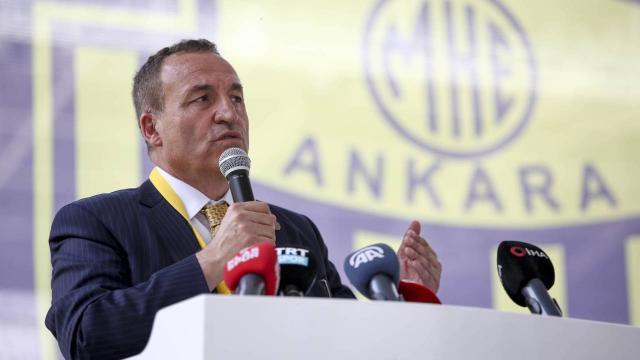 Ankaragücünde yeni başkan Faruk Koca oldu