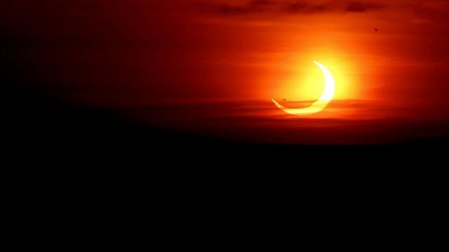Yılın ilk Güneş tutulması: Ateş Çemberi