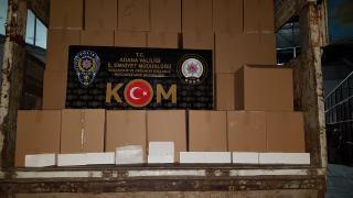 Adana'da kaçakçılık operasyonu: 2 gözaltı