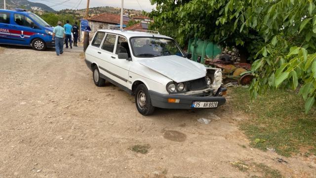 Manisada trafik kazası: 1 yaralı