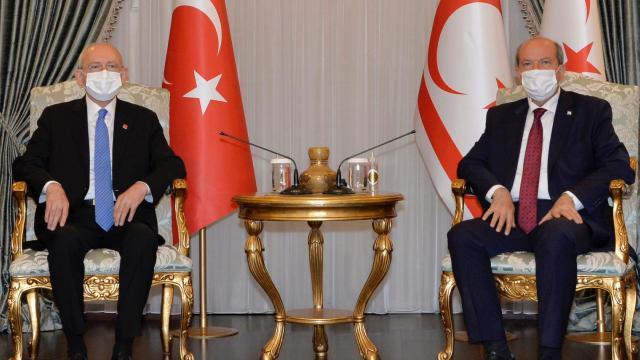 Kılıçdaroğlu KKTCde temaslarda bulundu