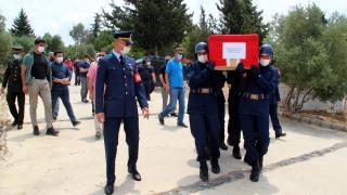 Muğla'da vefat eden Kıbrıs gazisi son yolculuğuna uğurlandı