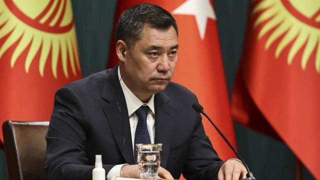 Kırgızistan Cumhurbaşkanı Caparovdan Türkiyeye taziye mesajı