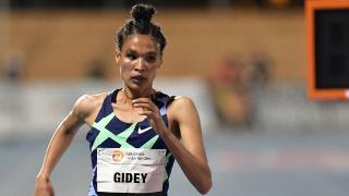 Etiyopyalı Gidey'den kadınlar 10 metre dünya rekoru