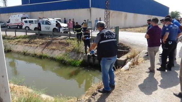 Hatayda sulama kanalında erkeğe ait cansız beden bulundu