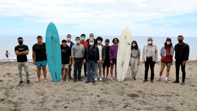 Orduda dalga sörfü eğitimleri başladı