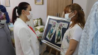 """Siirt'te """"Hayat Boyu Öğrenme Haftası"""" kapsamında sergi açıldı"""