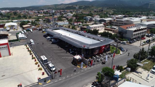 Susurlukta yeni otobüs terminali törenle hizmete açıldı