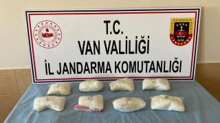 Van'da 7 kilo 621 gram sentetik uyuşturucu ele geçirildi