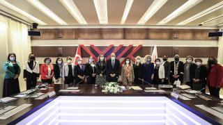 YÖK Başkanı Saraç kadın rektörlerle bir araya geldi