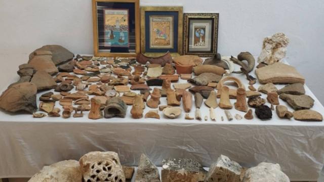 Antalyada 274 tarihi eser ele geçirildi
