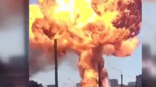 Rusya'da akaryakıt istasyonunda patlama: 16 yaralı