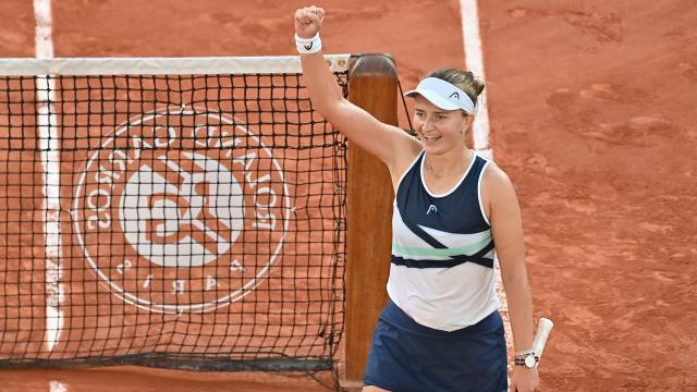 Fransa Açık Tenis Turnuvası'nda Krejcikova şampiyon oldu