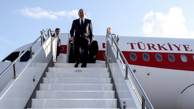 Libyaya üst düzey ziyaret