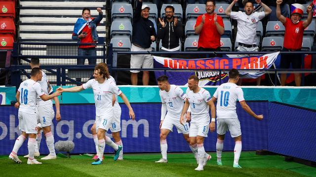 Çekya, İskoçyayı 2 golle geçti
