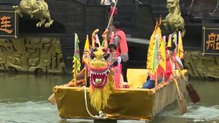 Çin'de Ejderha Teknesi Festivali