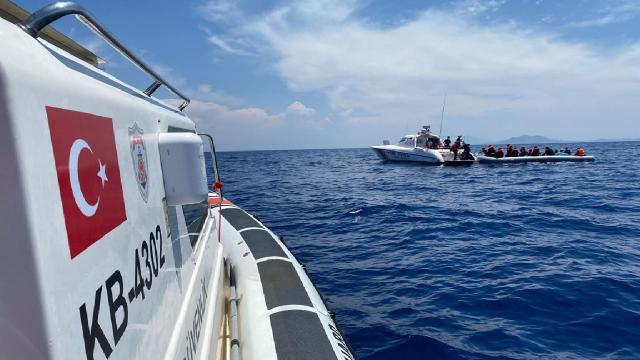 107 düzensiz göçmen Muğlada yakalandı