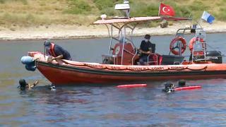 Ege Denizi'nde teknelere kirlilik takibi