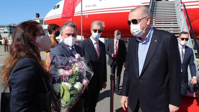 Cumhurbaşkanı Erdoğan Brükselde
