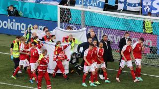 A Milli Takım futbolcularından ve kulüplerden Eriksen'e destek