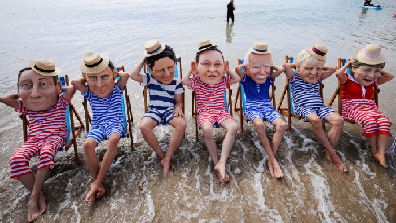 G7 Zirvesi protesto edildi