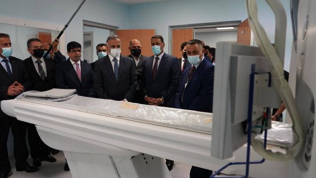 Türk şirketinin inşa ettiği hastane Irakta hizmete açıldı