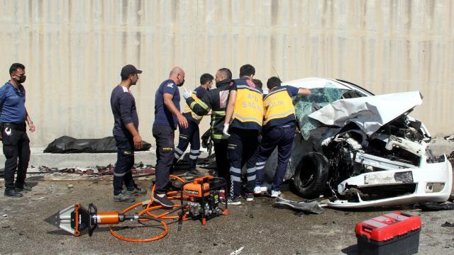 Hatayda trafik kazası: 3 ölü